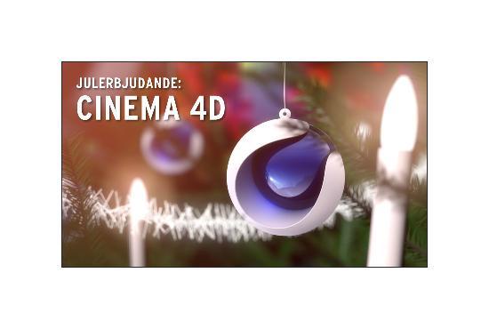 Julerbjudande på CINEMA 4D