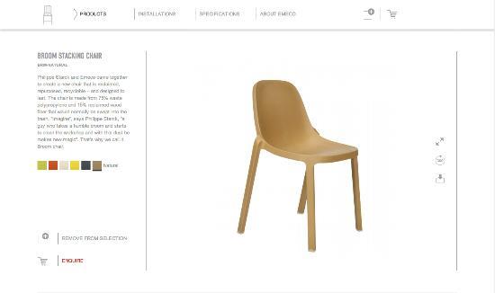 Ladda hem möbler som 3D-filer från Emeco