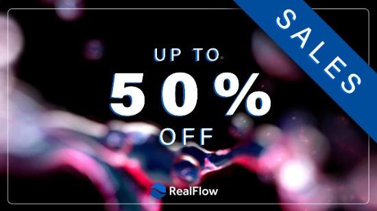 Upp till 50% rabatt på RealFlow