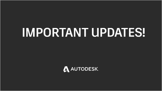 Nya datum för Autodesks licensövergång