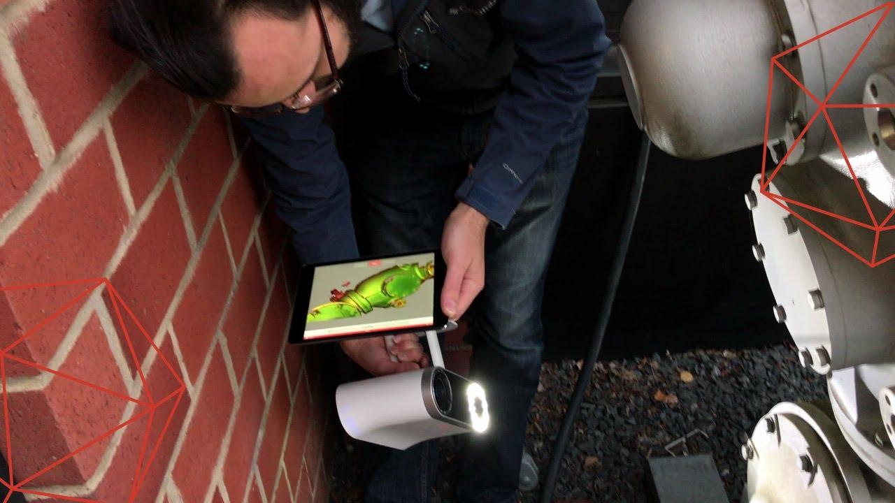 Screen Mirroring with Artec Leo 3D scanner