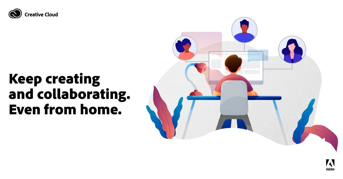 Adobe-webinars om affärsutveckling genom designsamarbete