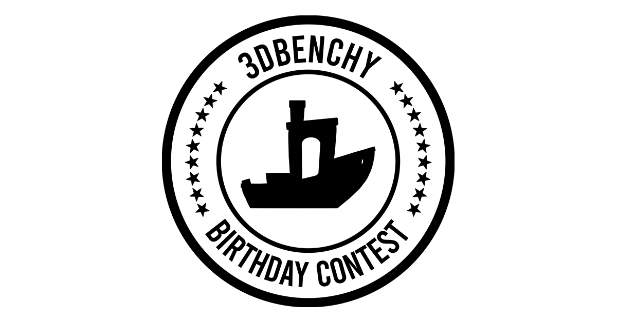 Win prizes with your creative 3DBenchy!