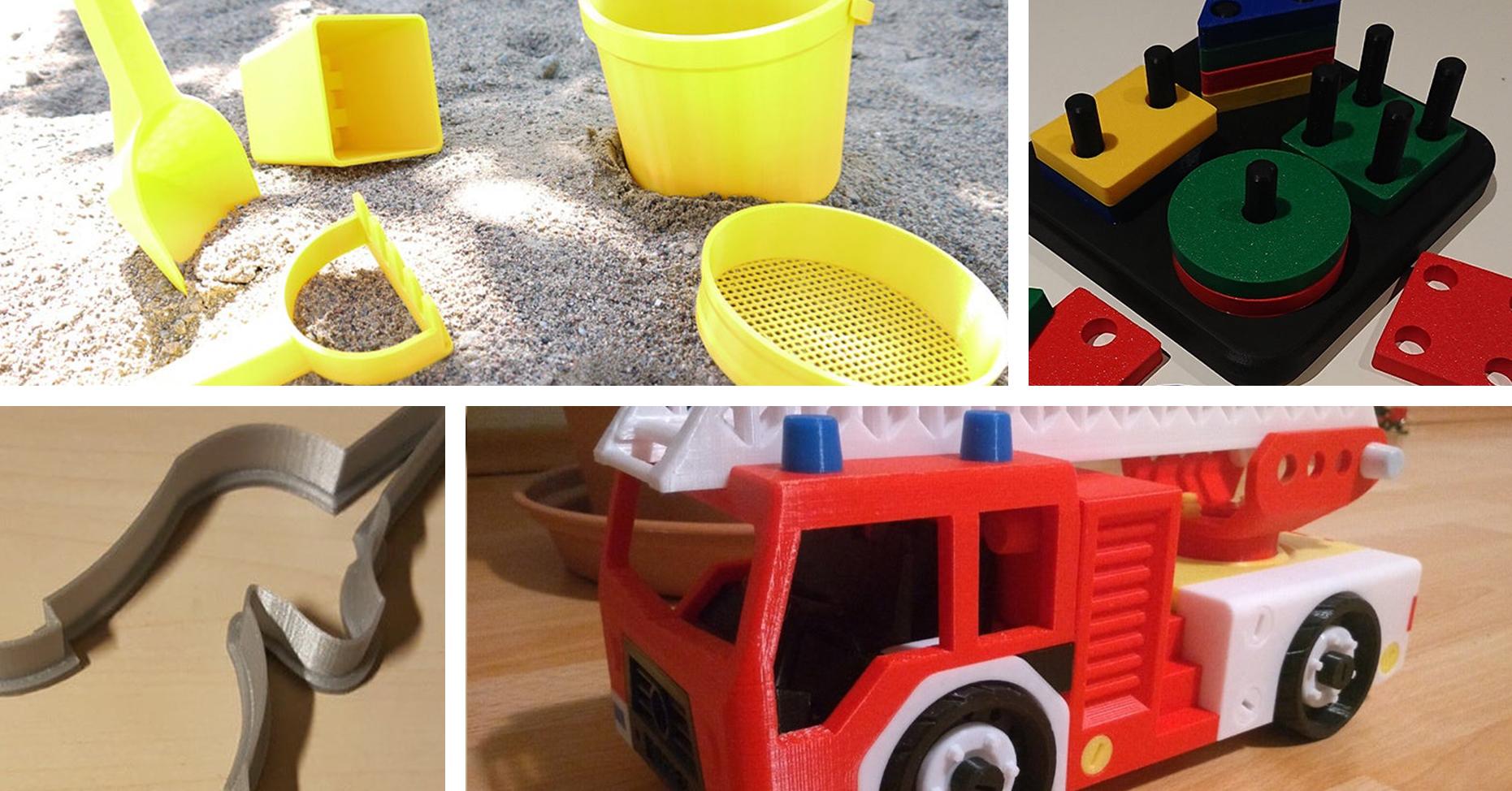 Fem roliga leksaker du kan 3D-printa till barnen