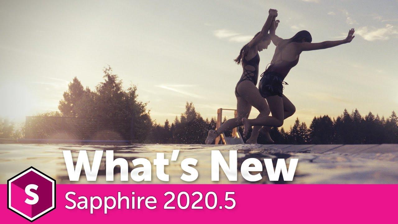 News in Boris FX Sapphire 2020.5