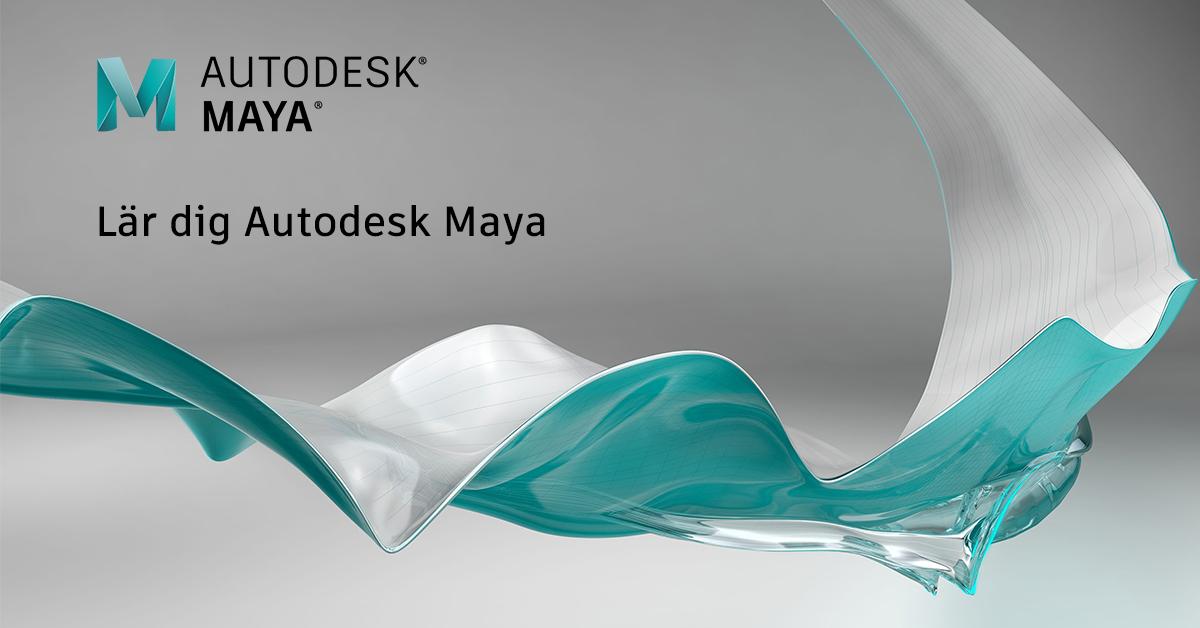 Lär dig grunderna i Autodesk Maya