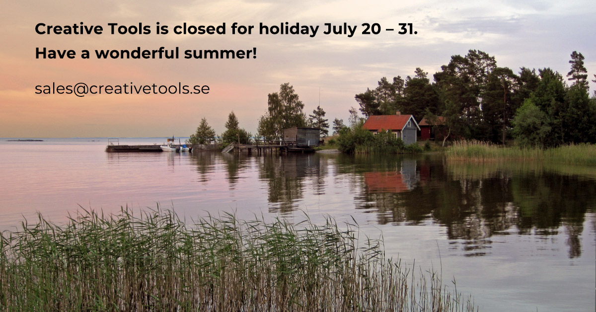 Closed for summer holiday July 20 – 31