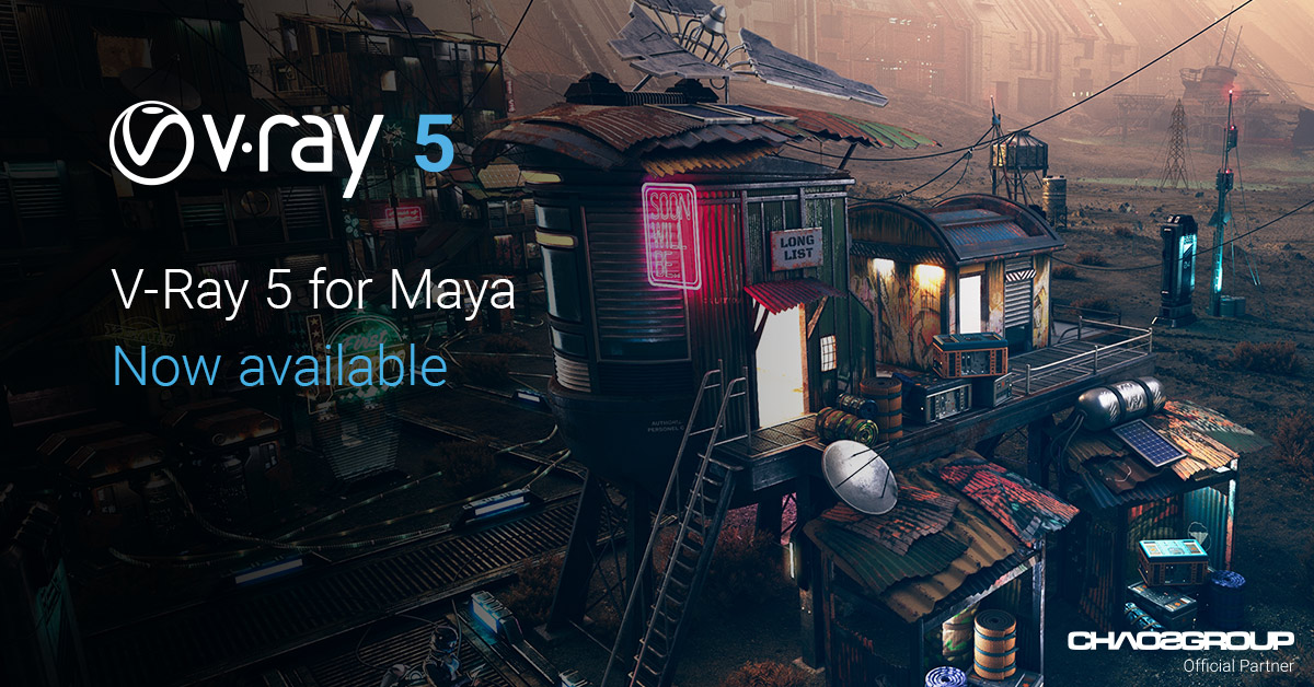 V-Ray 5 for Maya – now available!