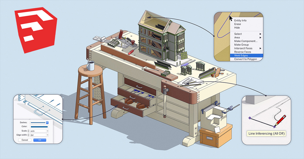SketchUp Pro and LayOut 2020.2 out now
