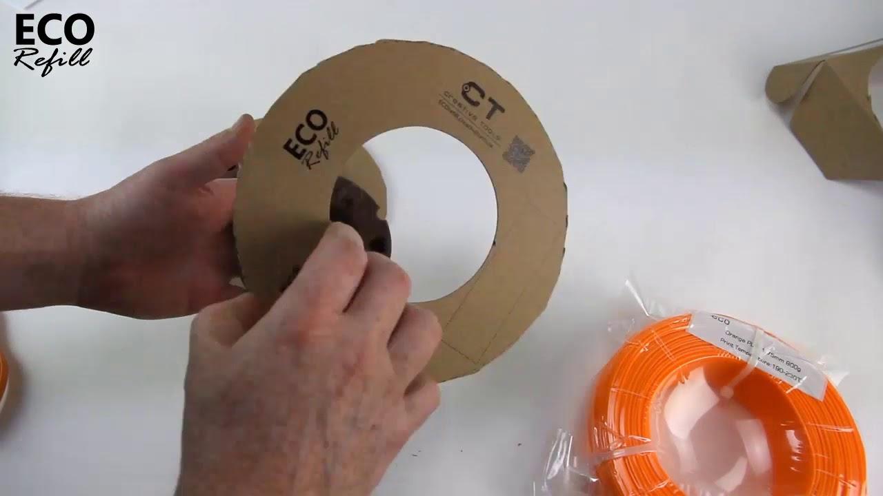ECOrefill 2,85 mm filament – nu prissänkt!