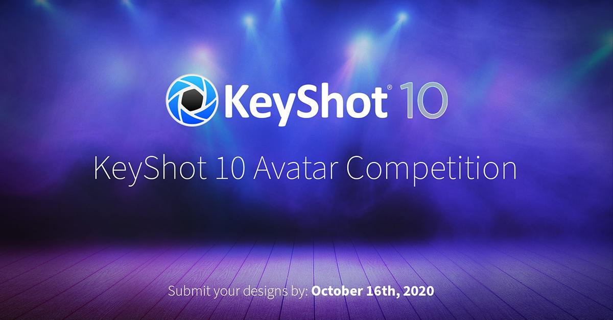 Tävling: skapa nästa KeyShot-avatar