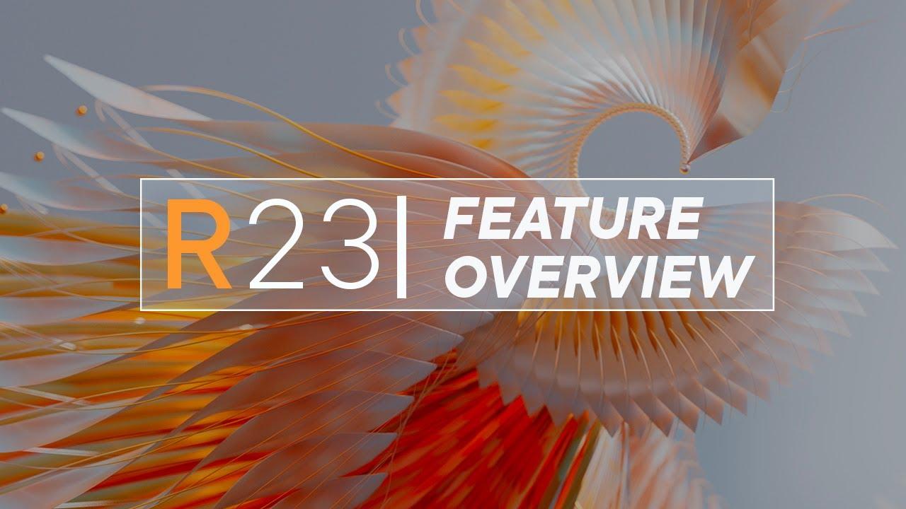 Cinema 4D R23 available now