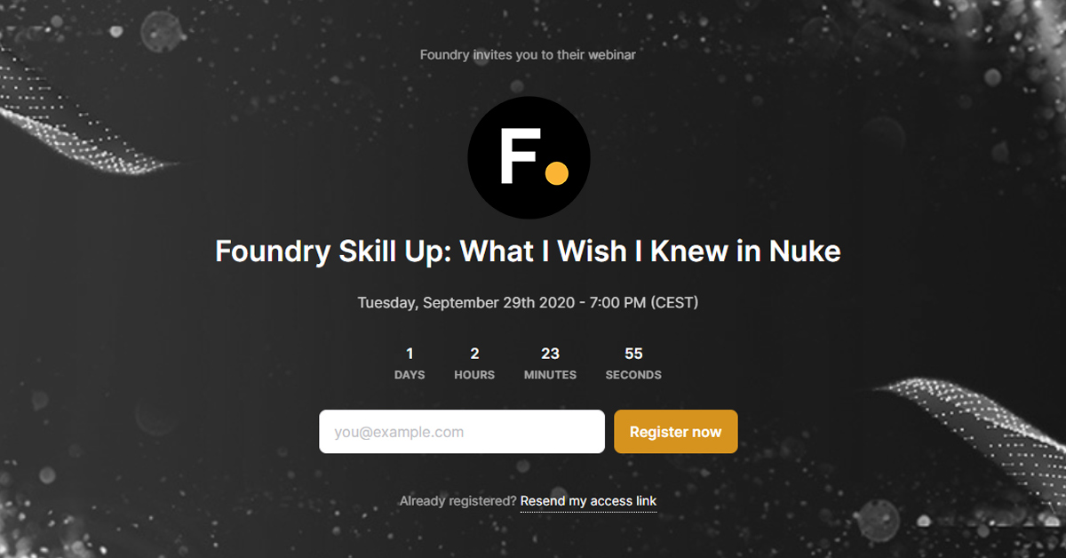 Foundry Skill Up: Josh Parks om Nuke
