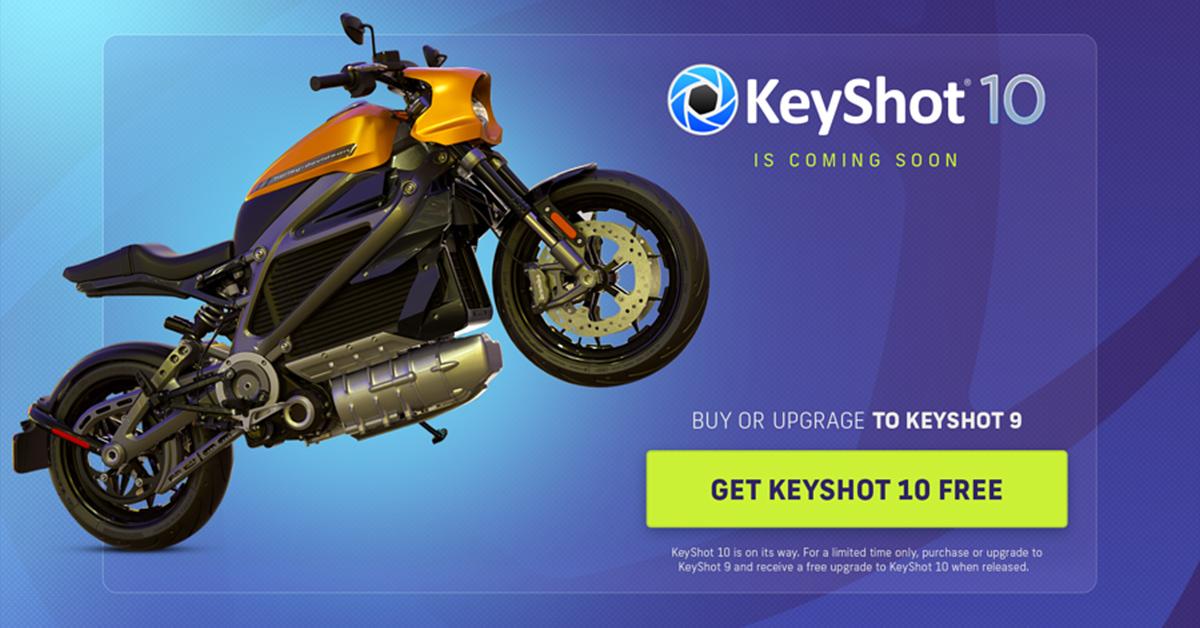Köp KeyShot 9 nu – få KeyShot 10 på köpet!