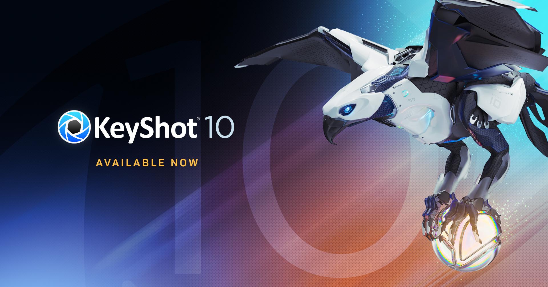 KeyShot 10 ute nu!
