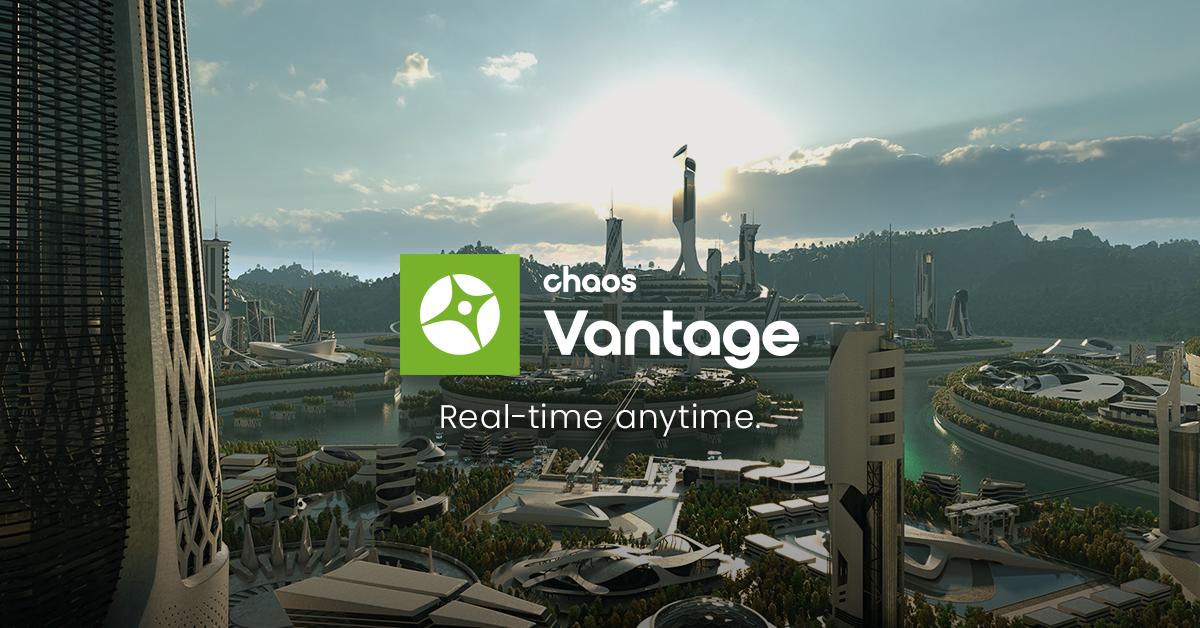 Chaos Vantage: Ray tracing, real-time