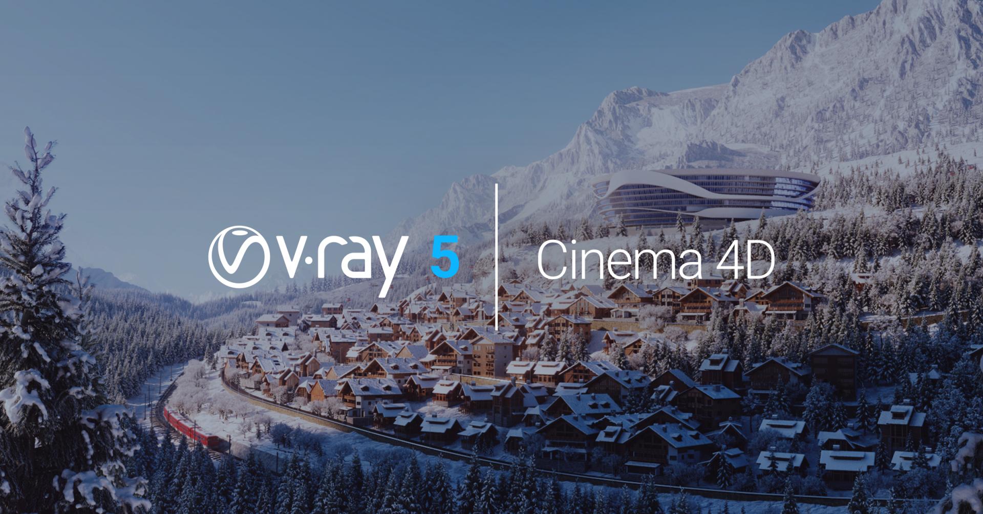 V-Ray 5 for Cinema är här!