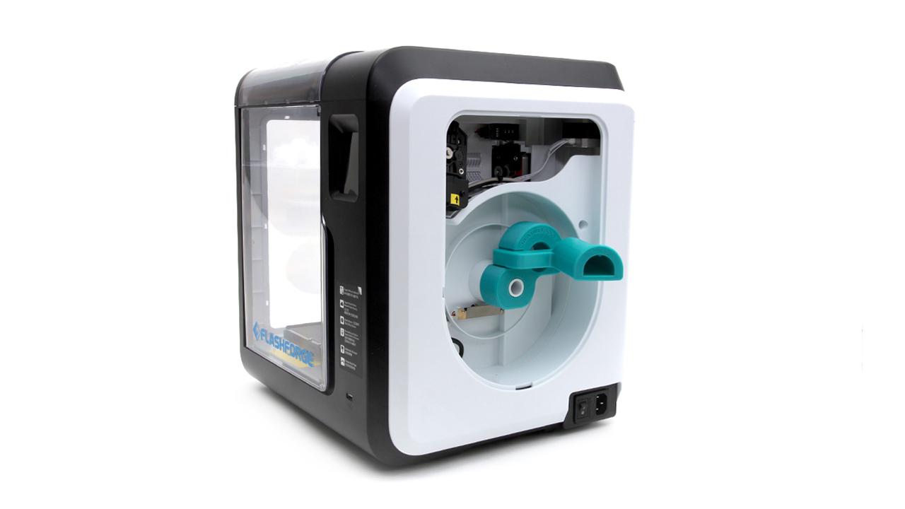 Gratis 3D-modell: Filamentspolhållare till Flashforge Adventurer 3