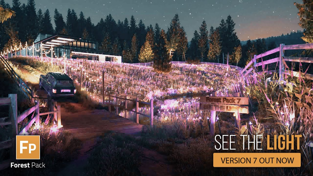 Forest Pack version 7 out now: See the light!
