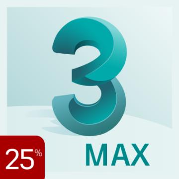 25% off 3ds Max