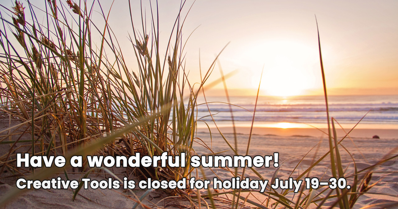 Closed for holidays between July 19–30