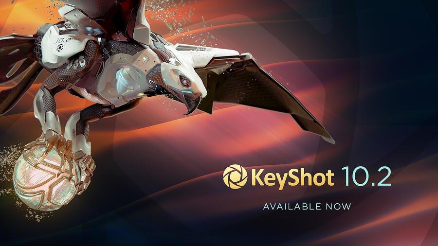 KeyShot 10.2 är här!