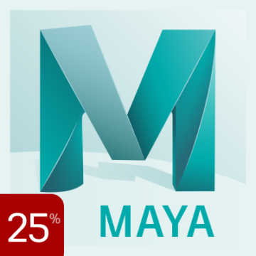 25% off Maya