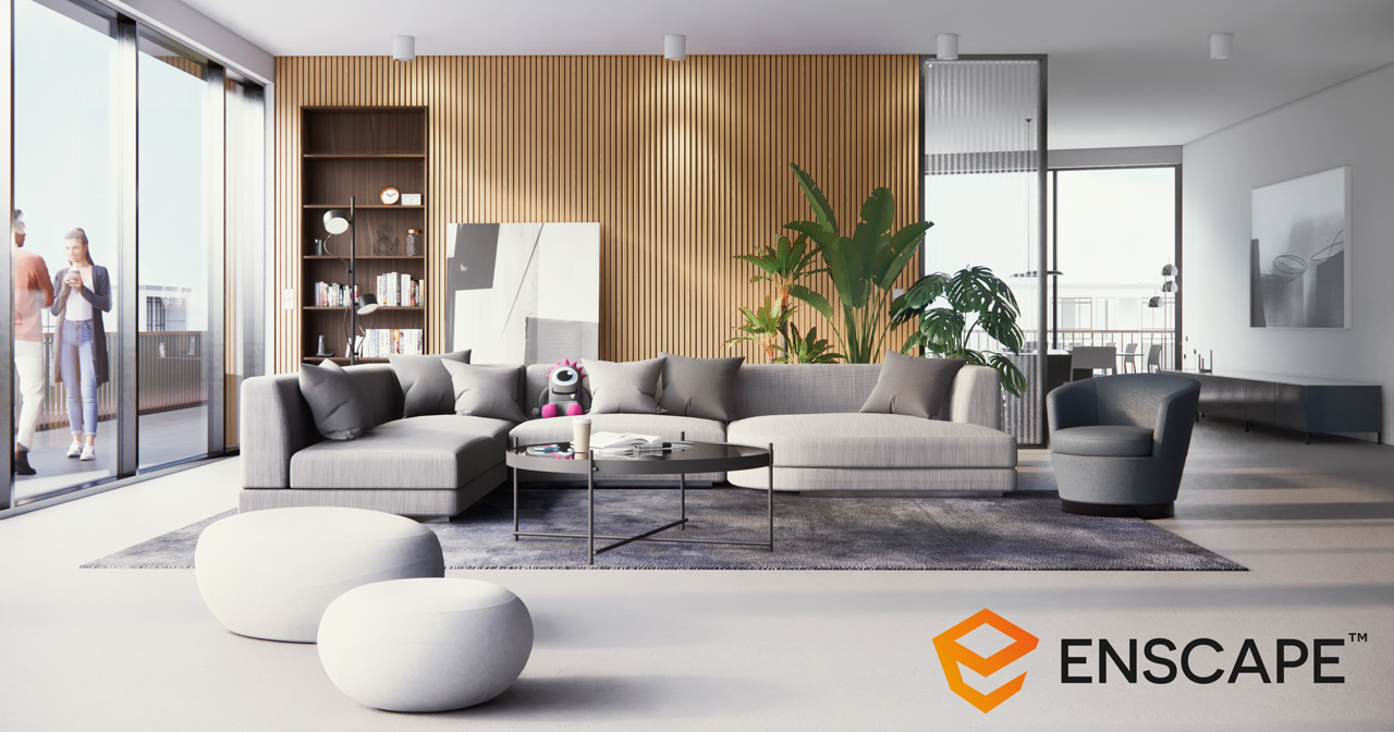 Experience real-time rendering and virtual reality with Enscape 3.1