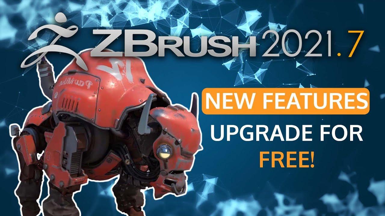 ZBrush 2021.7 ute nu!