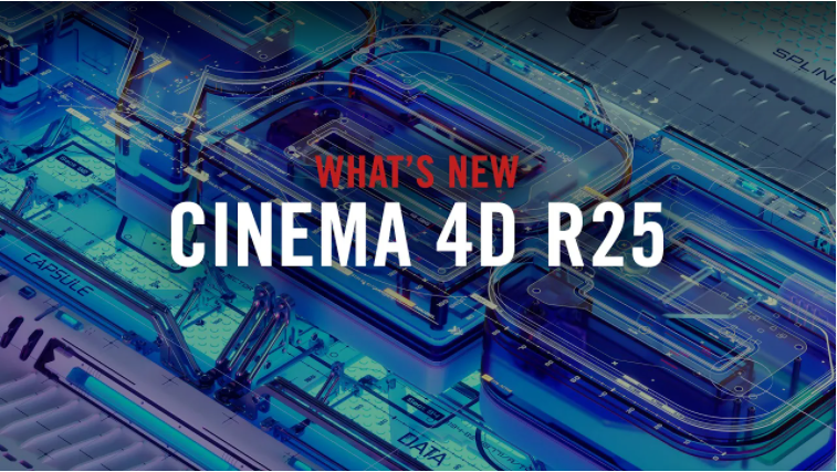Cinema 4D R25 out now