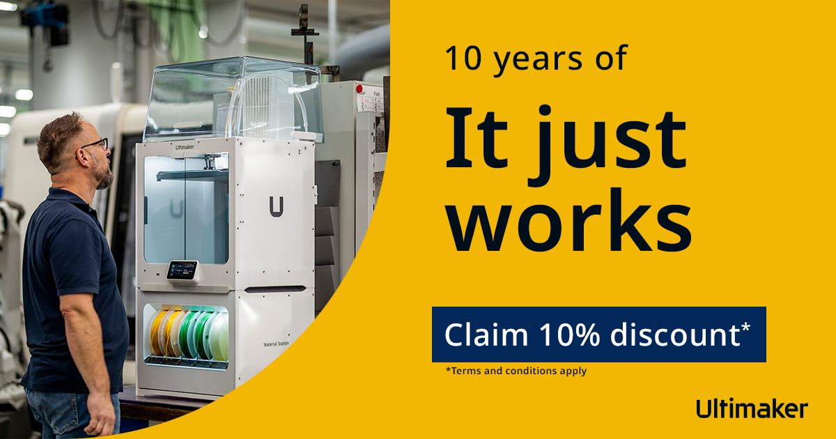 Ultimaker turns 10 years – let's celebrate!